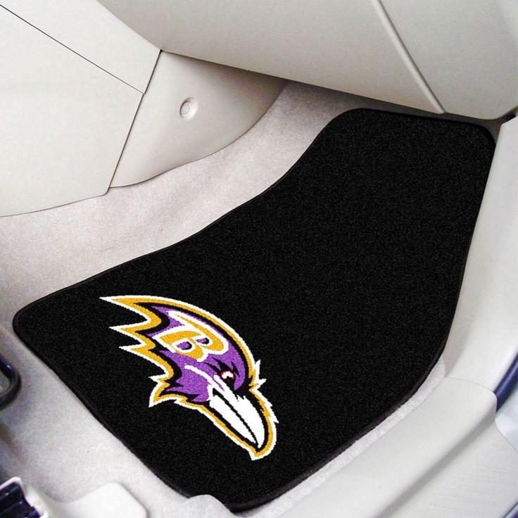 Baltimore Ravens 2-Piece Carpet Car Mat Set - $44.99