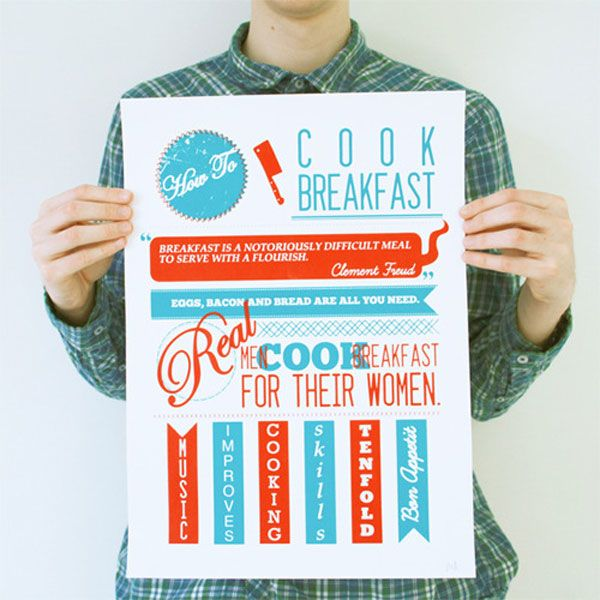 How to cook breakfast | Must be printed