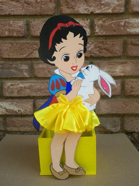 Snow White Centerpiece Decor Disney Princess Theme Birthday