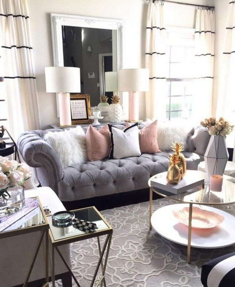 25 Awesome Swoon Worthy Glam Living Room Decor Ideas Livingroomideas Livingroomfurniture Living Living Room Transformation Glam Living Room Living Room Grey #one #sofa #living #room #ideas