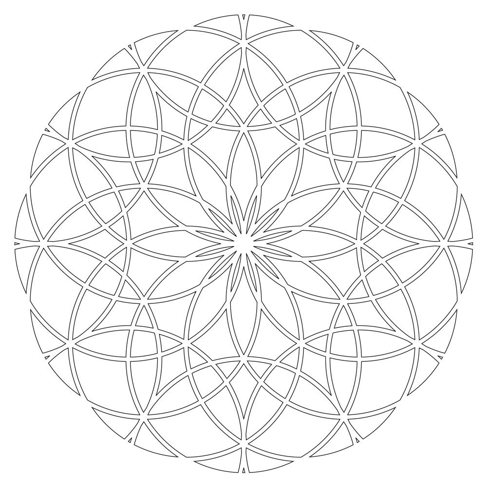 sacred geometry | sacred geometry colouring pages (page 2 ...