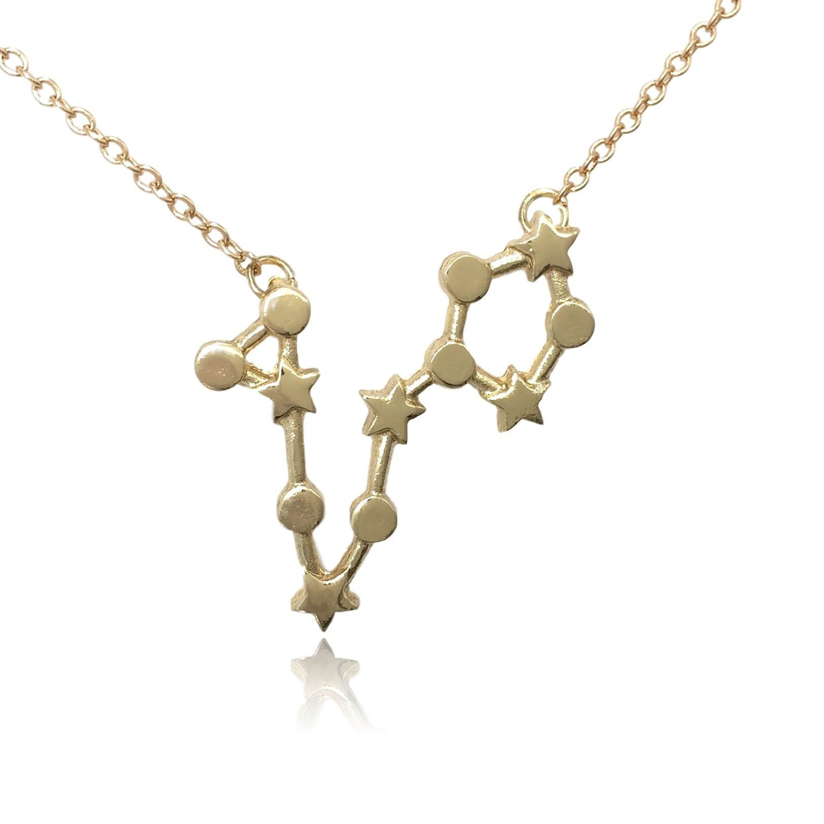 Pisces zodiac constellation sign symbol pendant necklace products