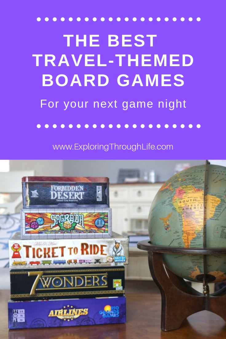 The Best TravelThemed Board Games (& Games to Pack In
