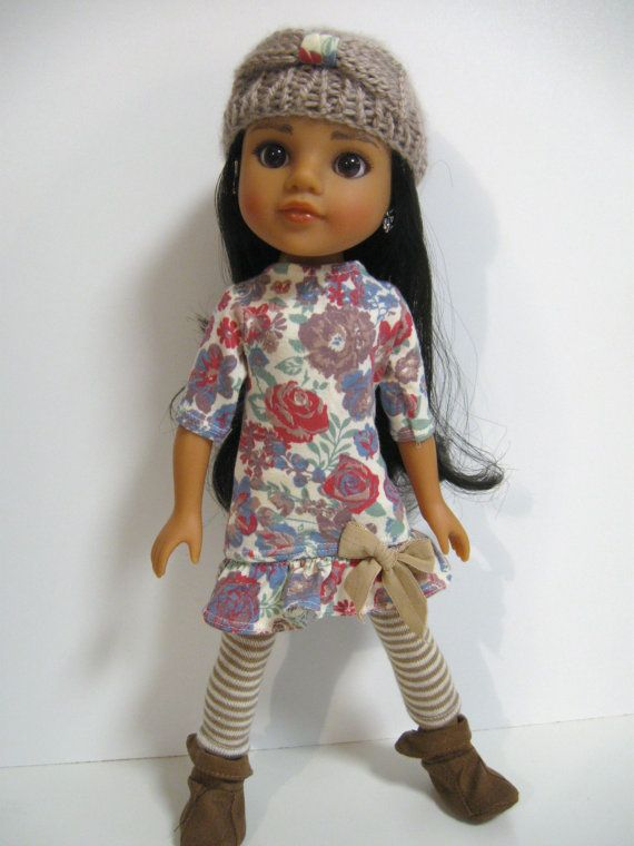 Hearts 4 Hearts Doll Clothes Florals and by 123MULBERRYSTREET, $24.00