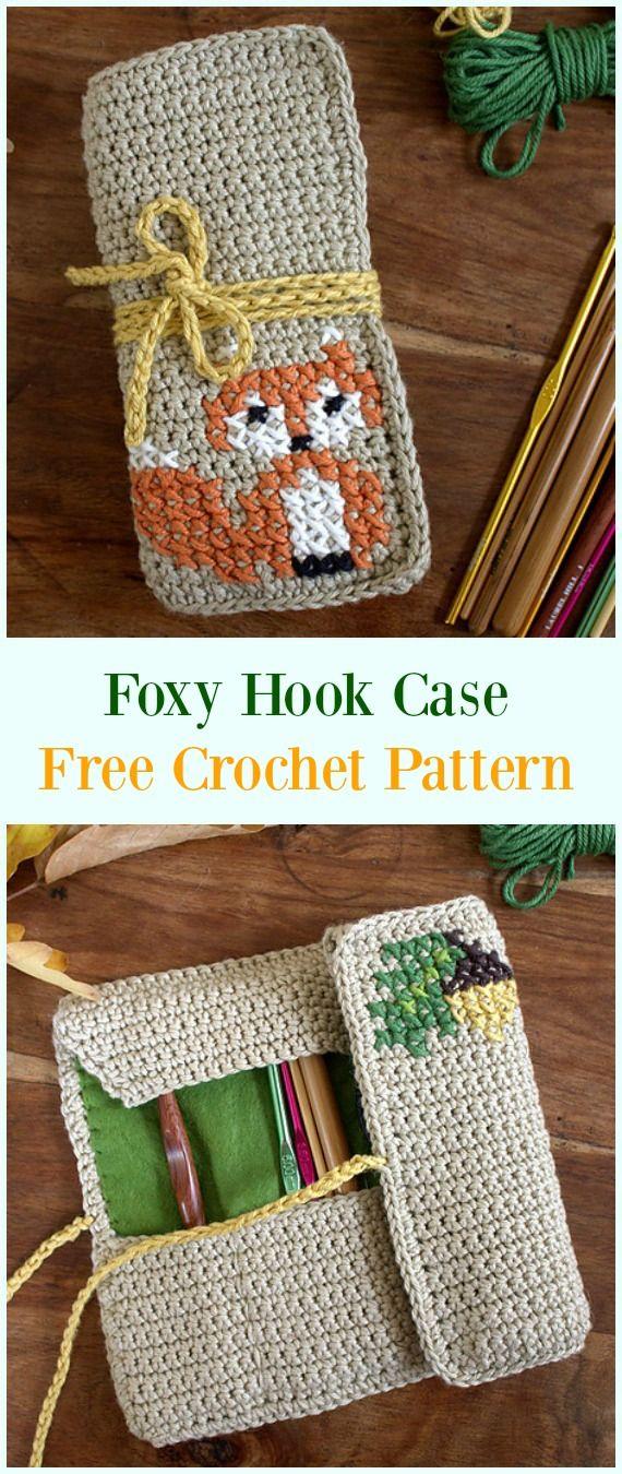 Crochet Hook Case & Holders Free Patterns