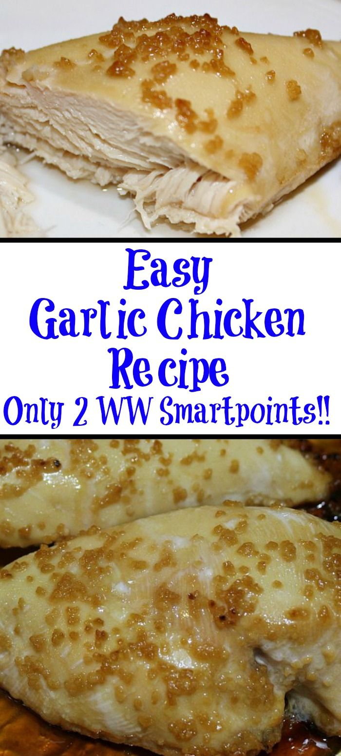 Easy Baked Garlic Chicken images