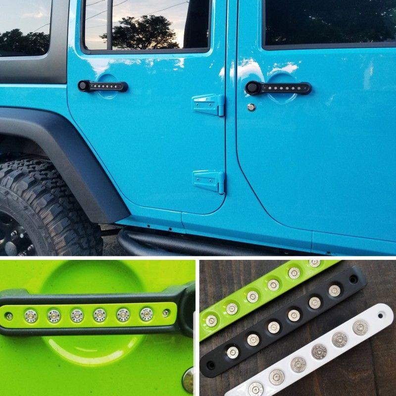 Jeep Wrangler Jk Jku Bullet Door Handle Inserts Jeep Wrangler Etsy Door Handles Jeep Wrangler Jeep