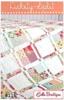 Lickety Split Baby Quilt Quilting Pattern From G.E Please See Description and Pictures For More Information! Quilt Designs BRAND NEW
