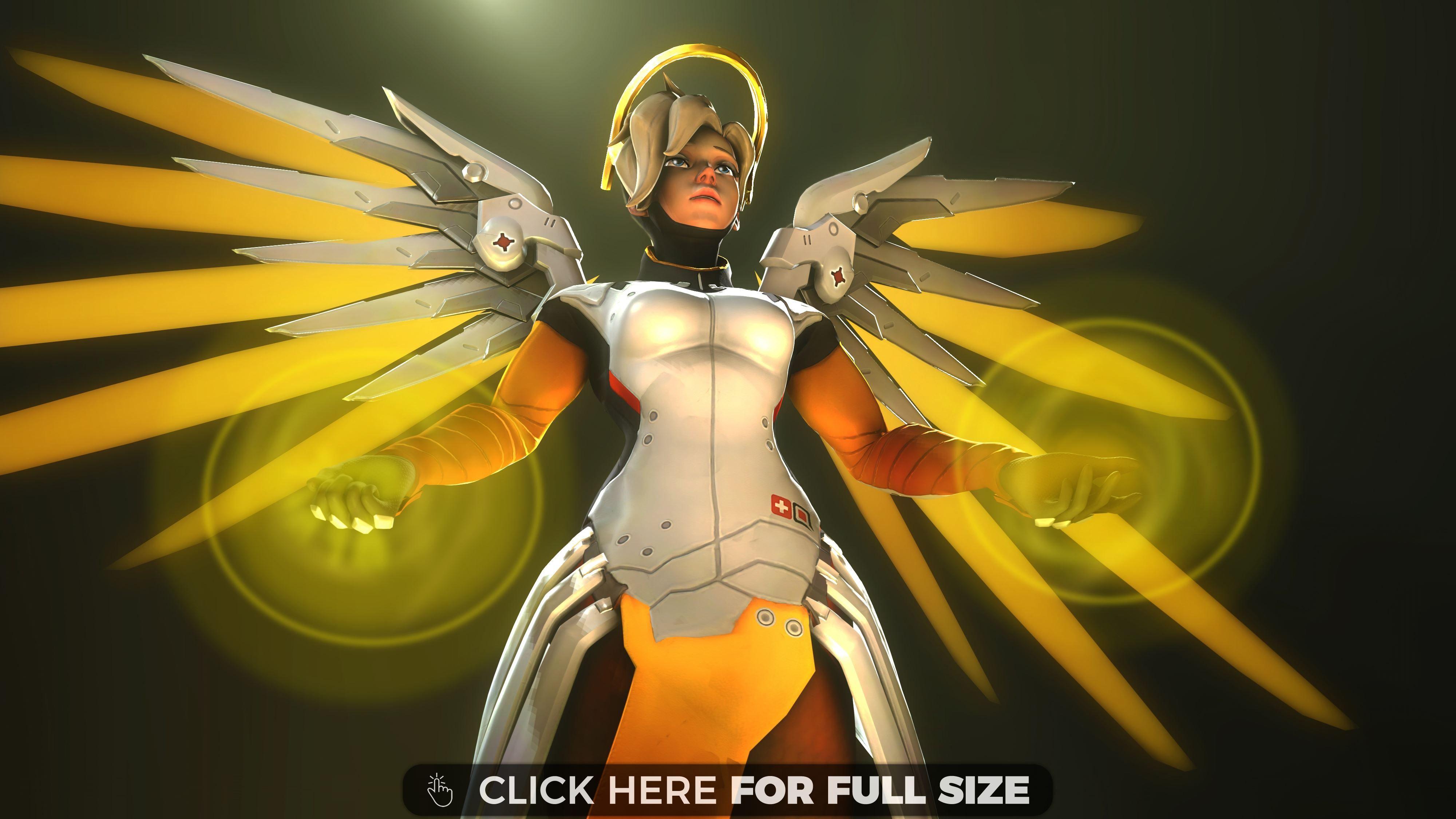 Mercy Overwatch 4k Mercy Overwatch Overwatch Wallpapers Overwatch