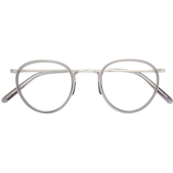 Oliver Peoples MP-2 round frame sunglasses (7.980 ARS) ❤ liked on ...