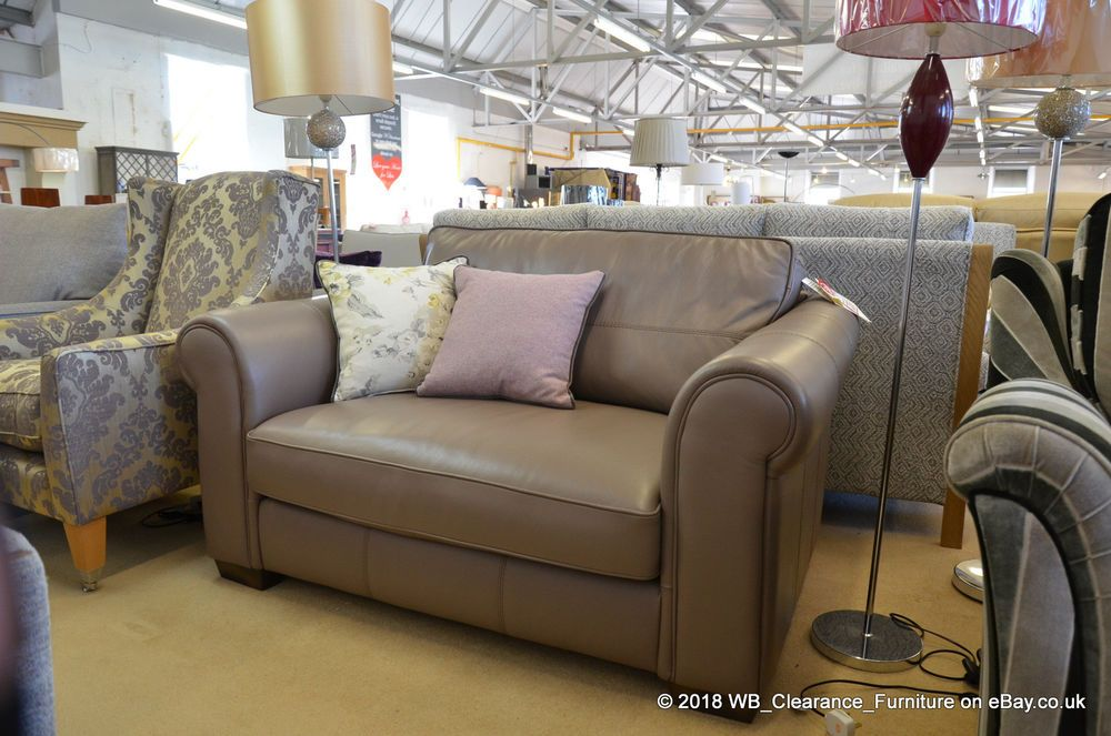 Leather Snuggler Armchair Small 2 Seater Sofa Sipsmith by ...