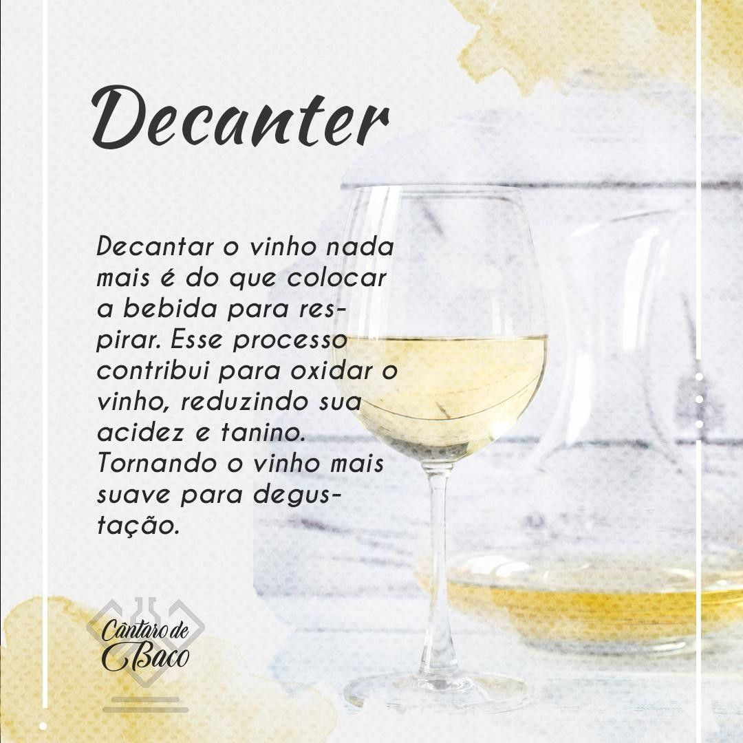 Qual a função do Decanter, minha gente? 🍷🍇🍷 . #CantarodeBaco #decanter #vinhoterapia #vinhodoporto #vinhosdeportugal #vinhotododia #vinhorose #vinhochileno #vinhoportugues #vinhosempre #vinhoévida #vinhobom #amantesdovinho #vinhobrasileiro #vinhosportugueses #vinhoargentino #vinhosequeijos #vinhododia #vinhoverde #organicwine #vinito #enoteca #vinoargentino #degustazione #winemaker #cabernet #winelove