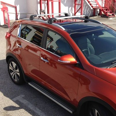 Thule Wing Bar Edge Low Profile Roof Bars Fitted Free By Brian Our Very Own Thule Expert Thule Ski And Snowboard Snowboard