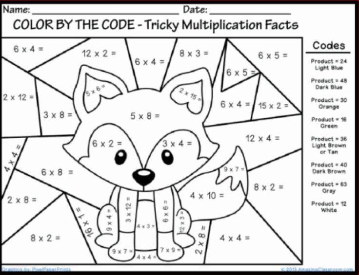 215301c7eeaa97b574f0d89888bbe153 Jpg 736 565 Math Coloring Worksheets Fun Math Worksheets Math Coloring