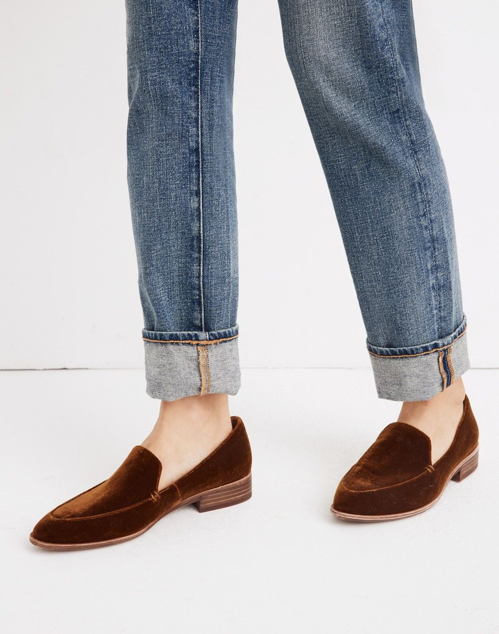 super popular 5ac1b c3ad9 The Frances Loafer in Velvet in burnished cedar image 2 Minimalist Shoes,  Minimalist Clothing,