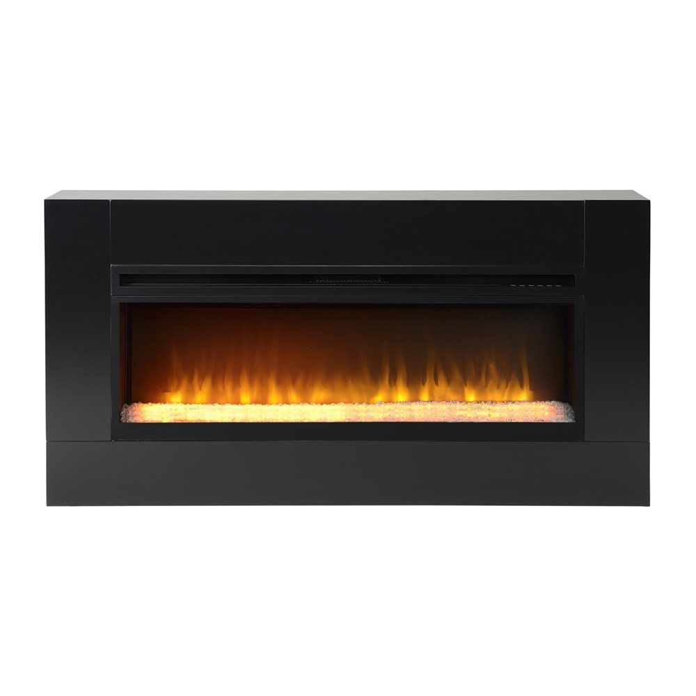 Shop Homestar Flamelux Mantova Freestanding Firebox At Lowe S Canada Find Our Selection Of Fireplaces A Electric Fireplace Fireplace Indoor Electric Fireplace