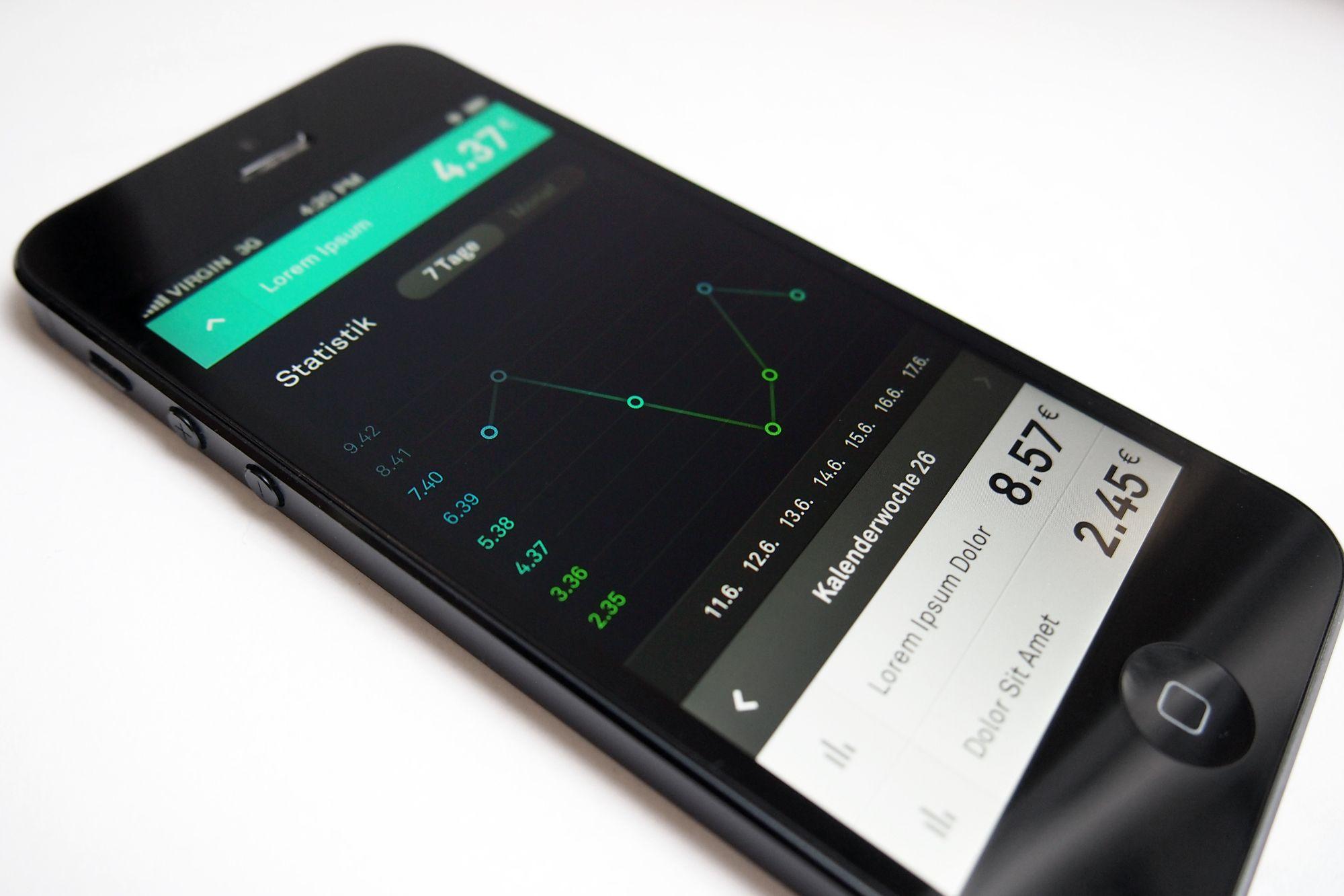 Secret App Statistics / Martin Oberhäuser Mobile app