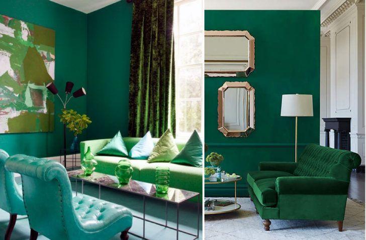 Tonos De Verde Para Interiores