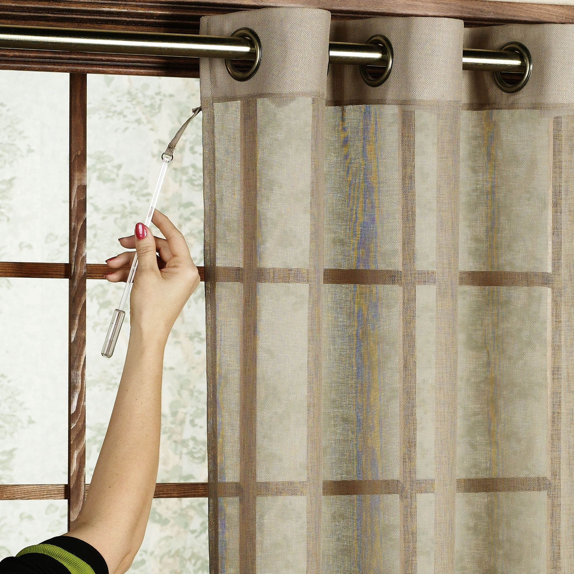 Bal Harbour Semi Sheer Grommet Patio Panel Door Coverings Patio Door Coverings Sliding Patio Doors