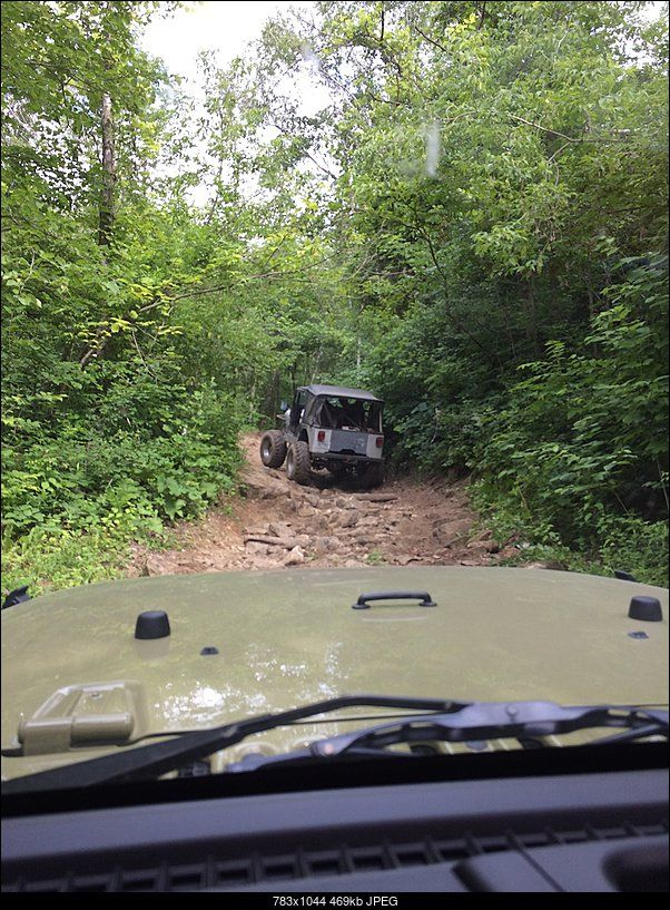First Off Road Trip Near Frontenac Mn Green Jeep Jeep Wrangler
