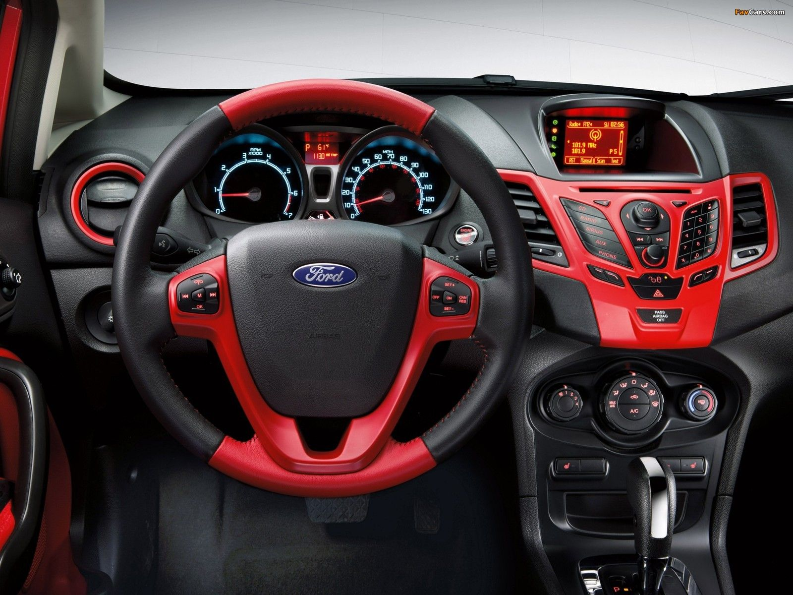 Ford Fiesta Hatchback Personalization Package 2011 Ford Fiesta Modified Ford Fiesta Ford Ranger Interior