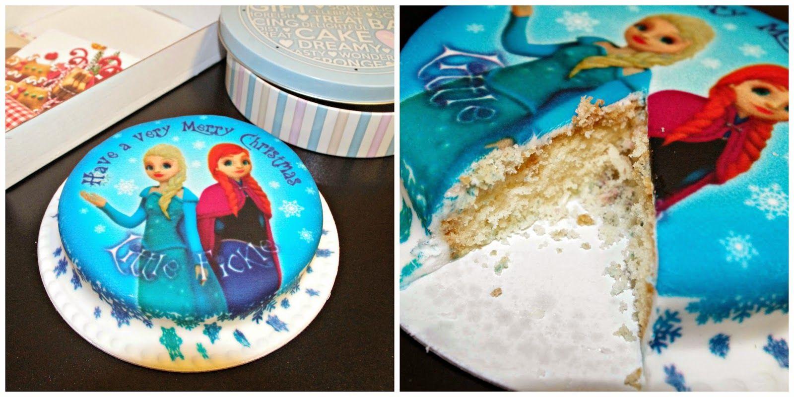 Little Fickle: Bakerdays Letterbox Cake*