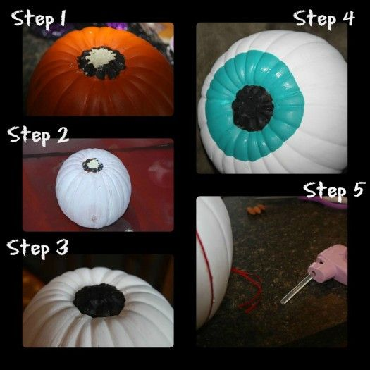 I Love these eyeball pumpkins Halloween DIY Fun Pinterest - halloween diy crafts