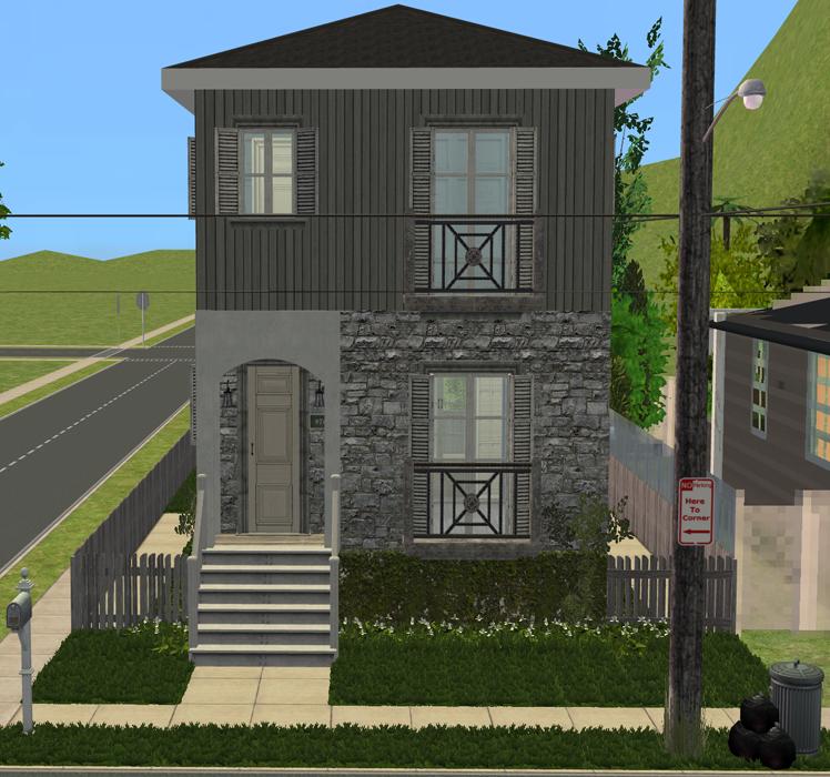 mod the sims - frondosian street 120 (apartments) | sims 2 lots