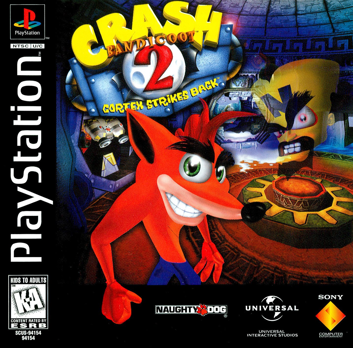 Crash Bandicoot 2 Cortex Strikes Back Crash Bandicoot 2 Crash