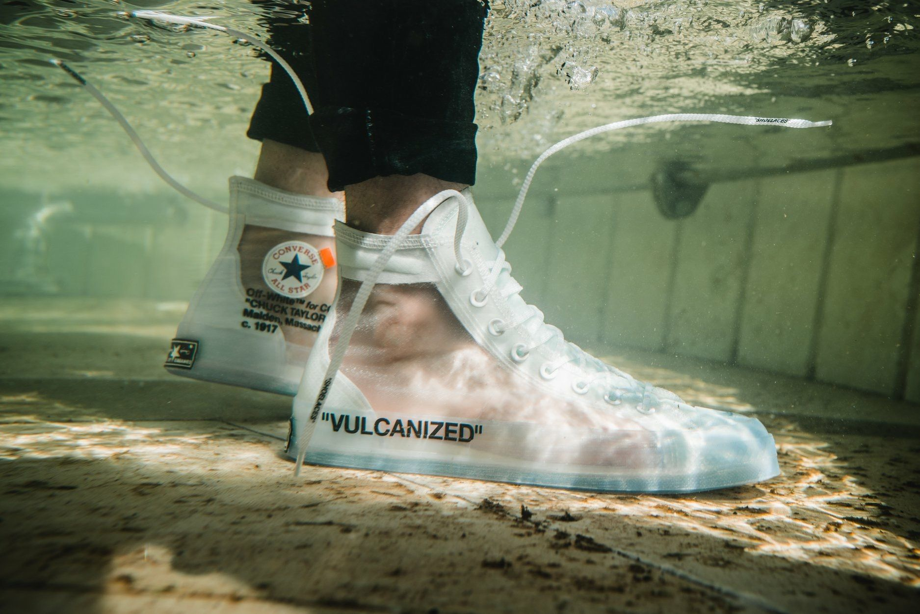 Off White X Converse All Star Off White Converse Converse Chuck Taylor Chuck Taylors