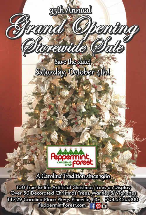 Christmas Shop, Peppermint Forest Christmas Shop Charlotte, NC ...