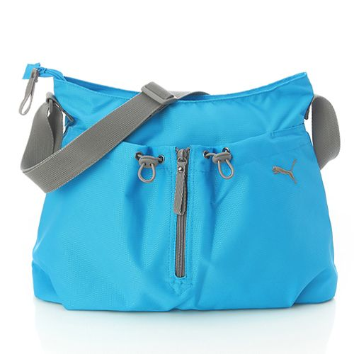 6e4b65a44d5c BN Puma Fitness Big Shoulder Messenger Bag Teal Blue Big Shoulders