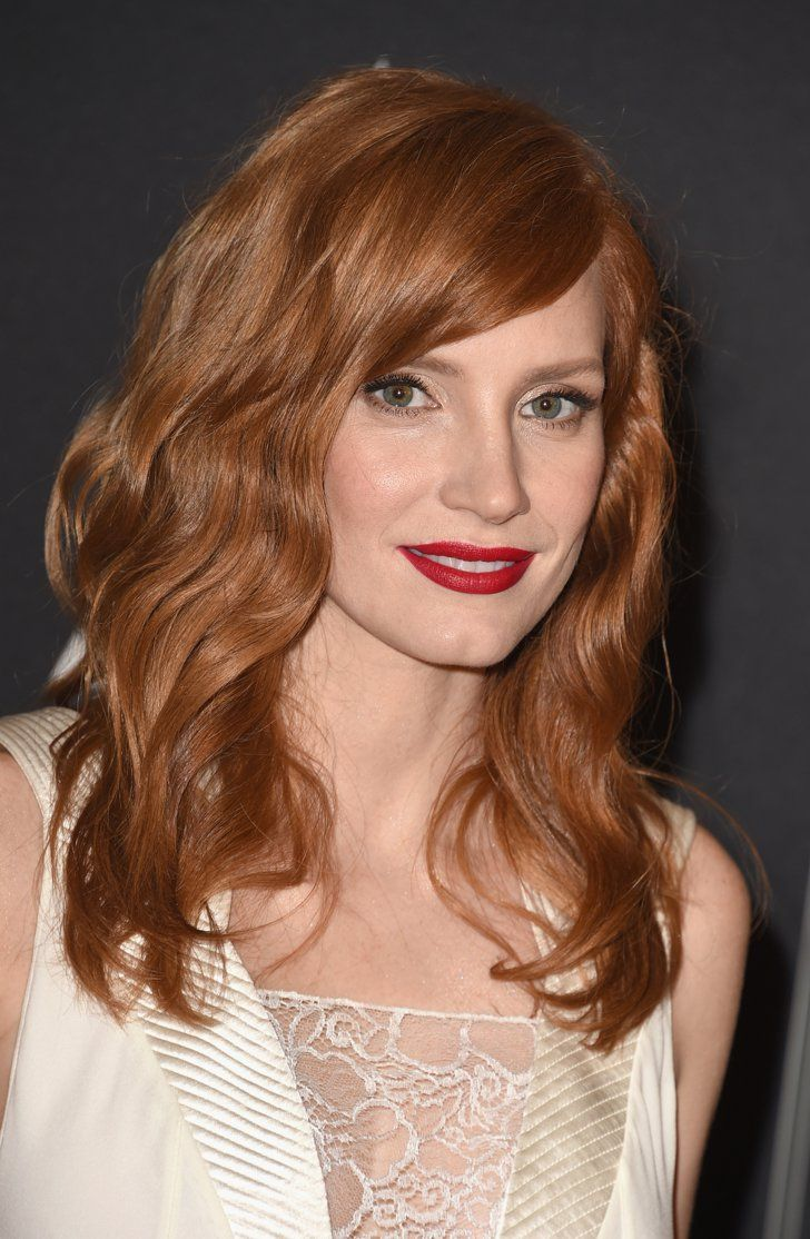 Jessica Chastain Ginger Hair Hairstyle Red Hair