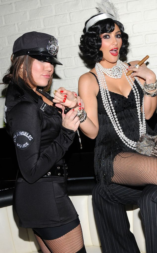2008 (with Khloé Kardashian) from Kim Kardashian's Halloween ...