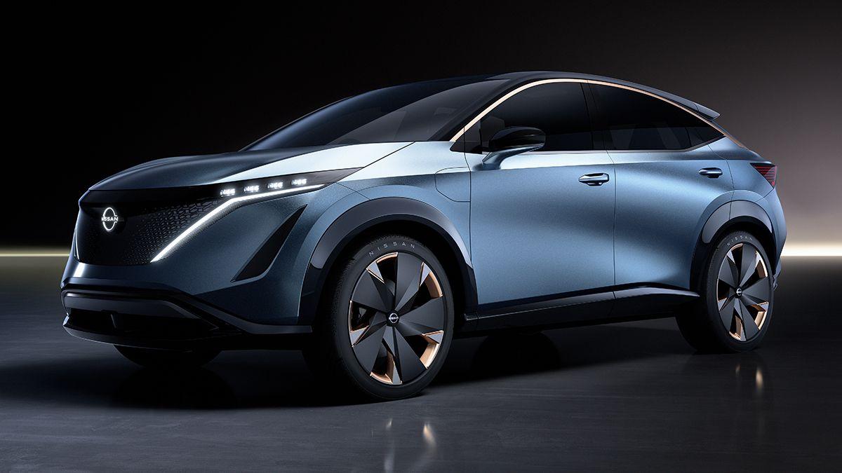 Nissan Unveils Ariya Concept At Tokyo Motor Show Urdesignmag Tokyo Motor Show Electric Vehicle Charging Nissan
