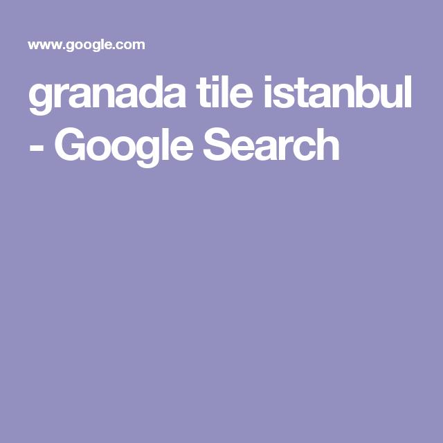 granada tile istanbul - Google Search