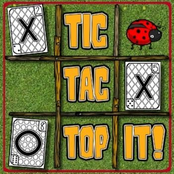 This is a great game for developing strategic thinking, problem-solving skills, number identification and concepts of more & less. Its a fun mix of two classic games: Tic-Tac-Toe and Top it (also known as War).The goal of the game is the same as that of Tic-Tac-Toe.