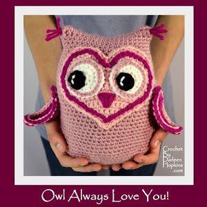 Owl Always Love You, Crochet Pattern