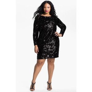 Long Sleeve Cocktail Dresses Plus Size - Missy Dress