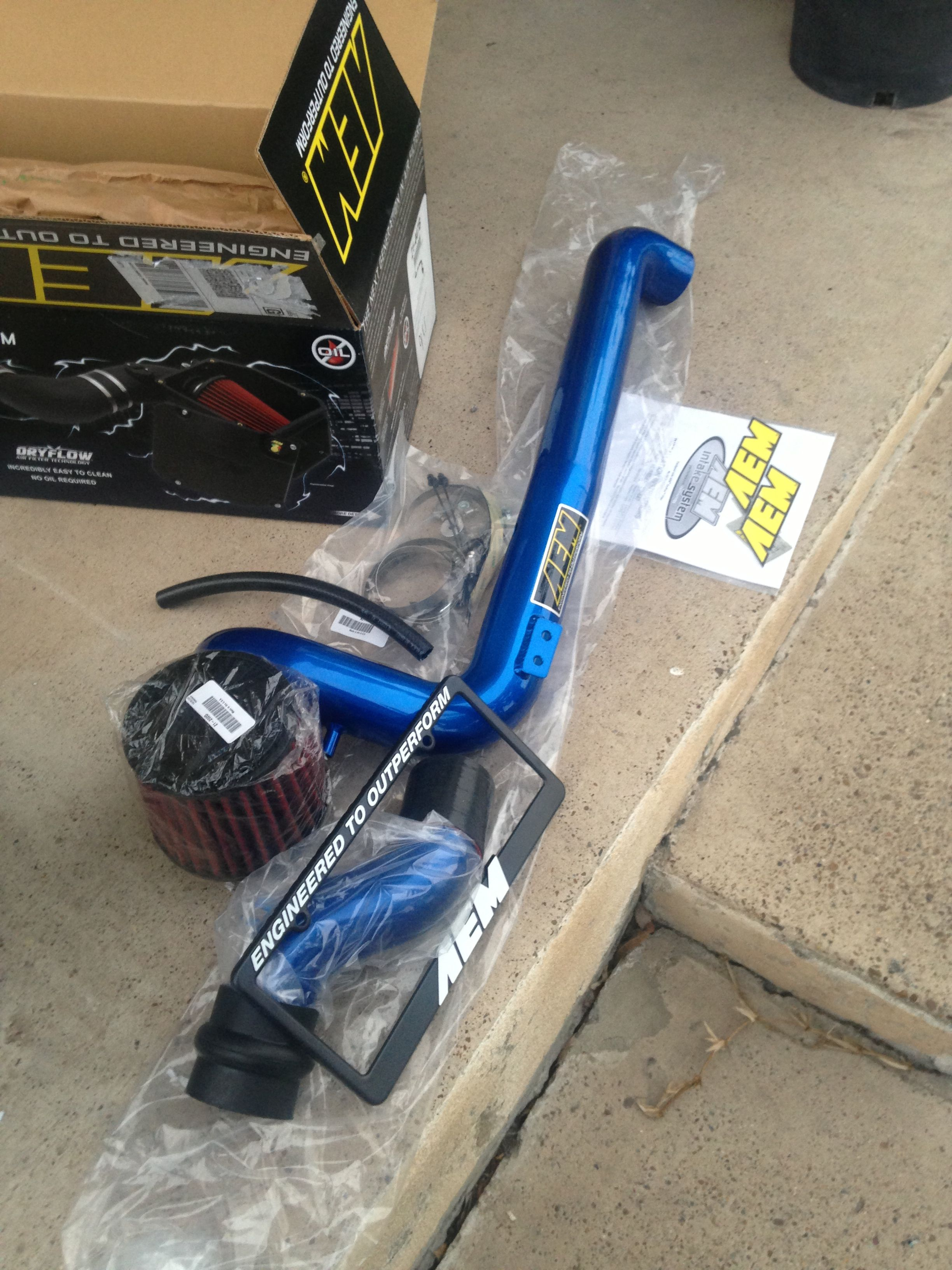 2002 cavalier cold air kit by AEM. My customer is going to