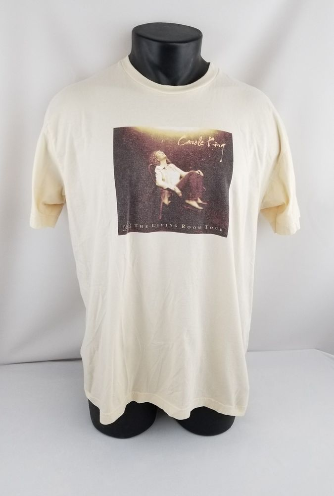 Carole King Composer Pop Music The Living Room Tour 2005 Concert TShirt  Adult XL | Clothing, Shoes U0026 Accessories, Unisex Clothing, Shoes U0026 Accs, ...