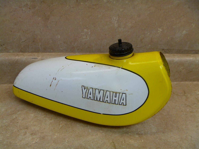 Yamaha 80 Ty Trials TY80 A Gas Fuel Tank 1974 Vintage YB58