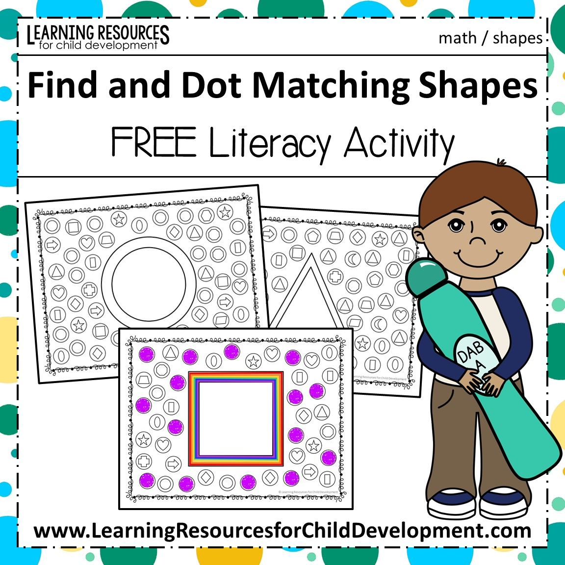 Find And Dot Matching Shapes With Images