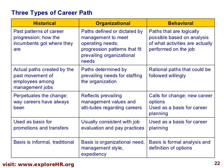 Career Planning And Development  Business Information