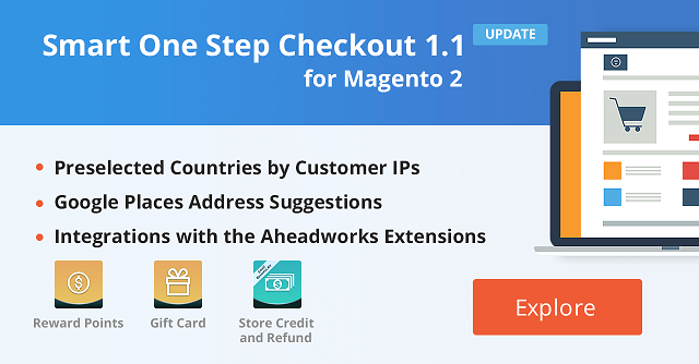 Smart One Step Checkout 1 1 is Integrated with Three