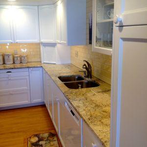 Kitchen Gallery MSI Hawaii Granite Counters