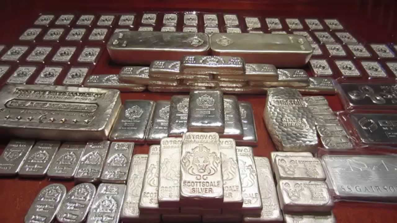 Full Stack Silver Bar Video Silver Amp Gold Stacking