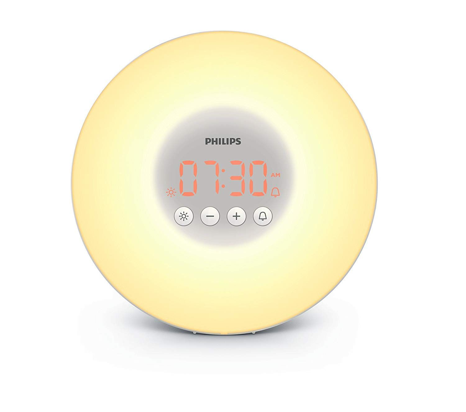 Philips Wake Up Light Alarm Clock Hf3500 01 With Sunrise