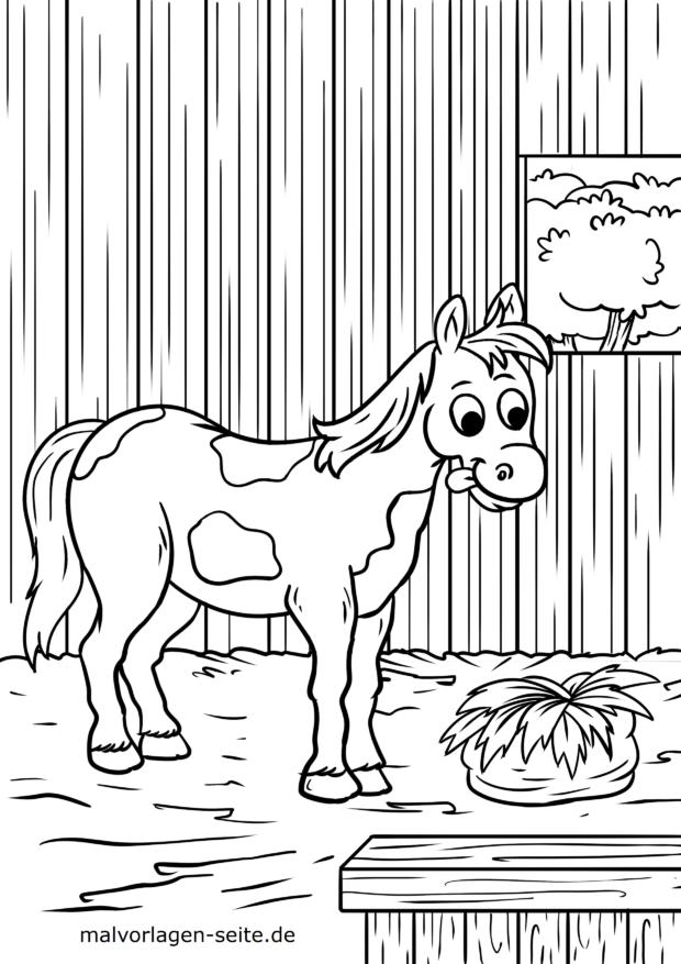 Malvorlage Pferd Im Stall Kostenlose Ausmalbilder Malvorlagen Pferde Malvorlagen Kostenlose Ausmalbilder