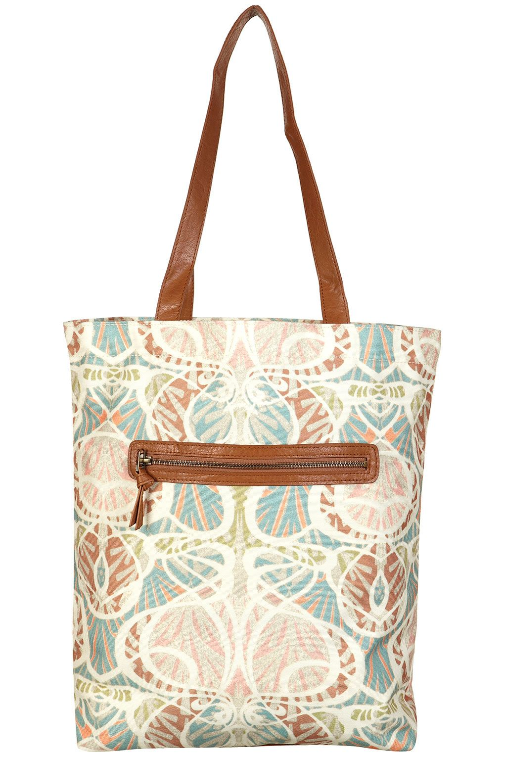 NOUVEAUX PRINTED SHOPPER
